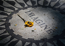 Memorial de John Lennon en Central Park | Colombian Tourist