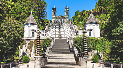 Santuario de Bom Jesus do Monte en Portugal | Colombian Tourist