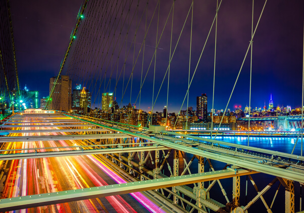 puente de Brooklyn, New York, Colombian Tourist